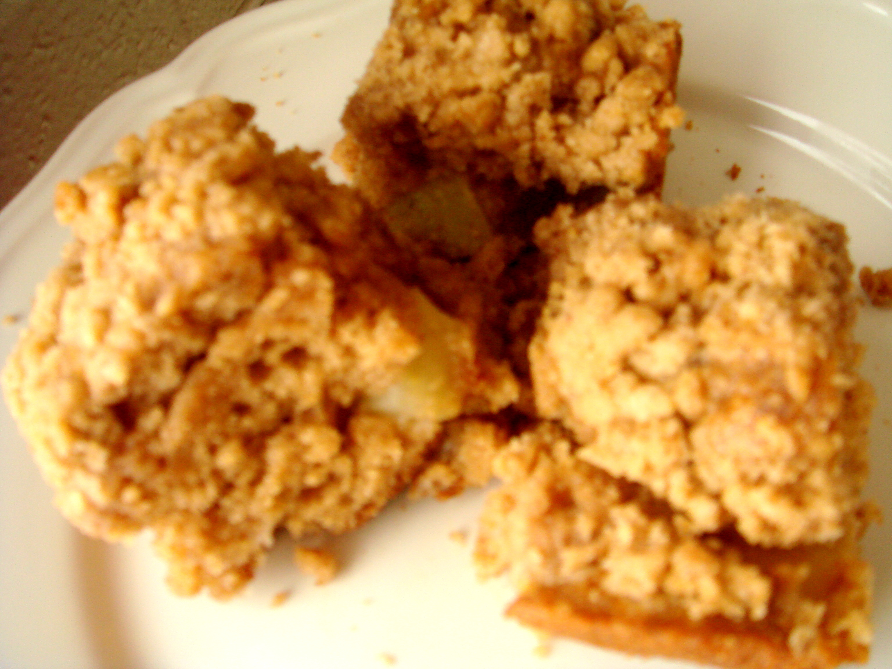 APPLE COFFEE CAKE WITH CRUMBLE TOPPING AND BROWN SUGAR GLAZE - The ...