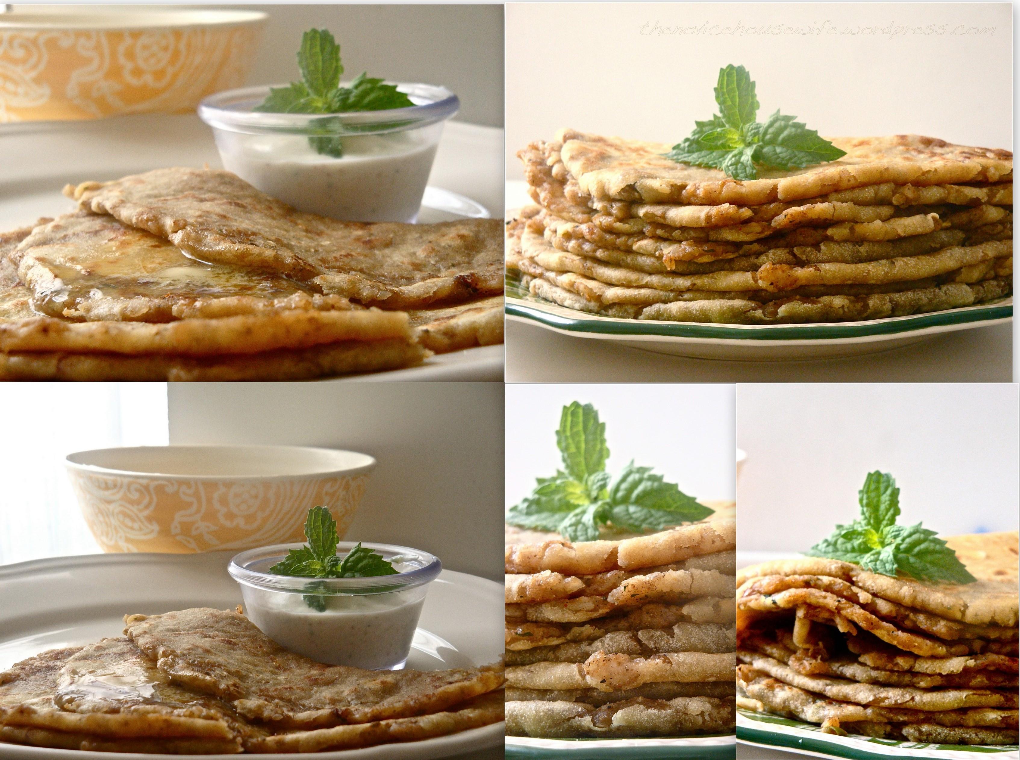 Masala Tuesdays: Aloo Parantha (Indian flatbread stuffed with potatoes ...